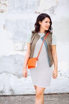 simple striped dress | target