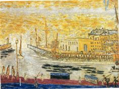 Trouville, the Exit to the Port - Pierre Bonnard - WikiArt.