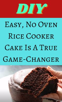 Slow Cooker Recipes Dessert, Dessert Recipes, Cooking Recipes, Sweet Desserts, Vegan Desserts, Rice Cooker Cake, Game Changer, Diy Hacks, Let Them Eat Cake
