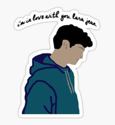 'To all the boys I've loved before pink' Sticker by frnknsteinn Stickers Cool, Red Bubble Stickers, Tumblr Stickers, Phone Stickers, Printable Stickers, Aesthetic Stickers, Aesthetic Iphone Wallpaper, Vsco, My Love