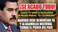 Después de este polémico programa de los informantes transmitido por la televisora Caracol de Colombia, Maduro debe estar haciendo sus maletas porque no existen dudas de que no es Venezolano. Nadie se atrevía a...