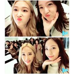 Jessica Jung with Krystal Jung at BLANC & ECLARE Store Grand Opening in Soho, New York on 161201