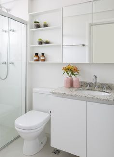 Shower Remodeling Farmhouse and Small Shower Remodel Layout. Bathroom Design Small, Bathroom Interior Design, Bathroom Wall Shelves, Small Shower Remodel, Cool Apartments, Apartment Furniture, Bathroom Inspiration, Sweet Home, House Design