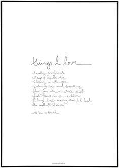SEALOE - Things I Love
