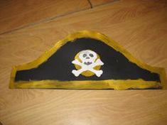 www.jufjanneke.nl   Piratenhoed