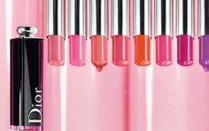 DIOR ADDICT LACQUER STICK. The first lip lacquer in a stick by Dior. 4 colour trends: Classic, Neon, Pastel & Wild.