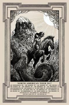 MONO North American Tour Poster 2017