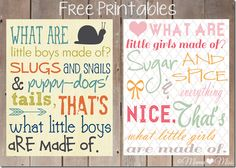 "Free Printable Subway Art ""Little Boys & Little Girls""  {mama♥miss} ©2012"