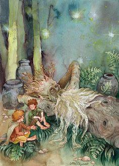 Merry, Pippin & Treebeard