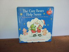 The Care Bears Help Santa Vintage Christmas Book by jessamyjay