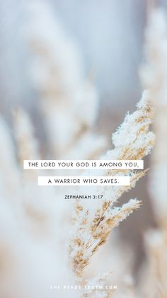 """(The rest of the verse) """"...He will take great delight in you; in his love he will no longer rebuke you, but will rejoice over you with singing."""""""