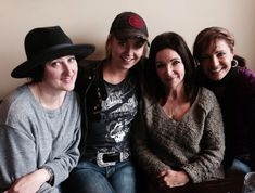 Amber with Devora Brown, Donna Fuller, and Jessica Steen.Source: Donna Fuller Twitter