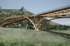 architetto Michele De Lucchi - BRIDGE OF LEAVES