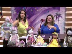 Mulher.com - 18/12/2015 - Boneca de pano para o quarto - Vivi Prado PT1 - YouTube