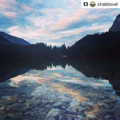 #tramonto al #lagoditovel! #sunset #lake #trentino #chaletovel #colors #landscape #nature  #Repost @chaletovel