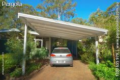 carport ideas attached to house australia - Google Search