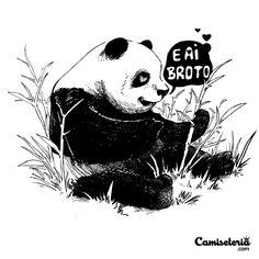 Camiseta 'E ai broto' - Catalogo Camiseteria.com | Camisetas Camiseteria.com - Estampa, camiseta exclusiva. Faça a sua moda!