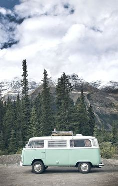 Need this van VW Bus in the mountains of Alberta, Canada. Shot by Crux Creative… Need this van VW Bus in the mountains of Alberta, Canada. Shot by Crux Creative. - Create Your Own Van Wolkswagen Van, Adventure Is Out There, Oh The Places You'll Go, Van Life, Belle Photo, Trippy, Conversion Van, The Great Outdoors, Adventure Travel