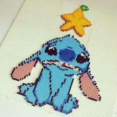 Stitch perler pixel art by ddralson