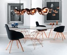 Void Mini Copper Pendant | Pendant Lights | Tom Dixon