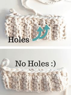 "Where do you insert your hook when the crochet pattern says "" crochet evenly around the hat band"" The video show you how to crochet around without ugly gaps"