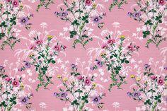 Vintage Home - The Prettiest Meadow Flower Fabric.