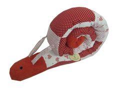 """OktobeRöte """"Polly"""" die Puckschnecke Nestchen von me Kinderkleidung und ersatzbezuege auf DaWanda.com"""