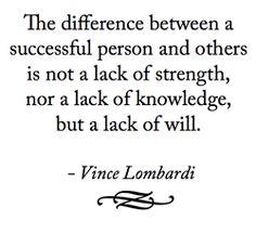 .Vince Lombardi...