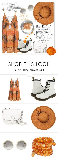 """""""True colors"""" by dee-dee-01 ❤ liked on Polyvore featuring Kiss The Sky, Dr. Martens, MICHAEL Michael Kors, Cutler and Gross and Kenneth Jay Lane"""