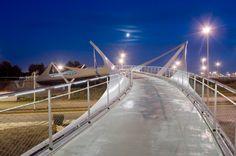 Knokke Footbridge / Ney & Partners, Flanders, Belgium