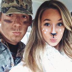 Couples Halloween costume idea. Deer and Hunter | holidays ...