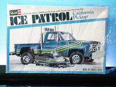 REVELL ICE PATROL CHEVY PICKUP TRUCK ARCTIC CAT SNOWMOBILE 1978