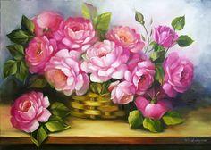 Pinturas De Flores Waldir Catanzaro
