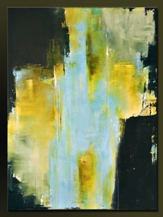 Sanctuary - 40 x 30 - Abstract Acrylic Painting - Huge Contemporary Wall Art…