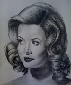 Drawing Of Alison DiLaurentis from Shadow Play- Alecia Ord