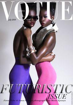Fatou Noba & Astou N'Dongo Vogue Africa Concept