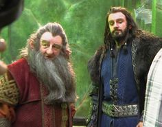 Prince Thorin and Balin the diplomat...before the Fall of Erebor.