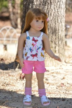 Top Shorts and Legwarmers for Kidz n Cats by Symidollsclothes