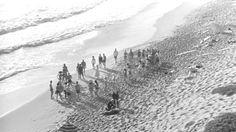 The final scene on the beach was shot in Malibu.