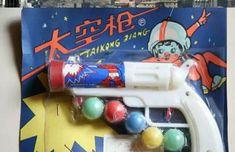 #transformer Toy gun with spherical bullet
