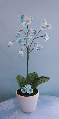 crochet flower arrangement | Floral Arrangements and Crocheted Flowers: February 2011