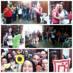 Workshop realizado pela artesã Keilla Spano em parceria com a Têxtil São João.
