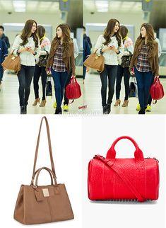 SNSD Seohyun and Tiffany Airport Fashion <3