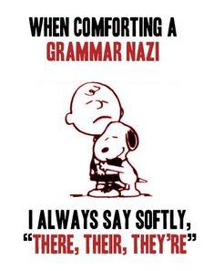 Grammar.  :)