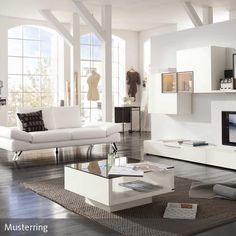 designer couch ? modernes sofa fürs wohnzimmer aus leder in weiß ... - Wohnzimmer In Weis Und Braun