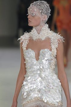 Still in love with Sarah Burton for Alexander McQueen spring/summer 2012.