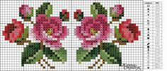 This Pin was discovered by Nur Mini Cross Stitch, Cross Stitch Cards, Beaded Cross Stitch, Cross Stitch Rose, Cross Stitch Borders, Cross Stitch Flowers, Cross Stitching, Cross Stitch Embroidery, Hand Embroidery