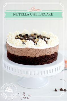 Pullahiiren leivontanurkka: Nutella-juustokakku ilman liivatetta / Nutella Che...
