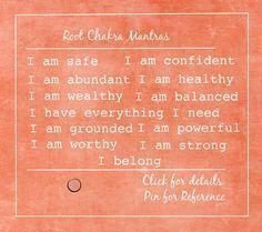root chakra mantras