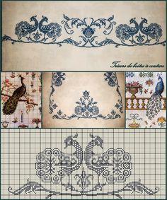 Tecendo Fios. Profissão, Arte e Terapia através do crochê, tricô e muito mais: PAVÃO - FASCINANTE/MISTERIOSO